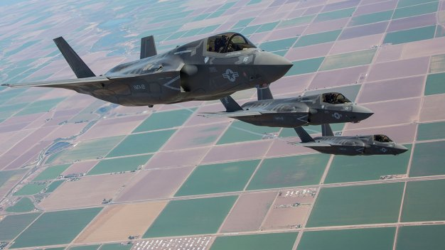 F-35B Stealth Fighter Jet Ready for Combat