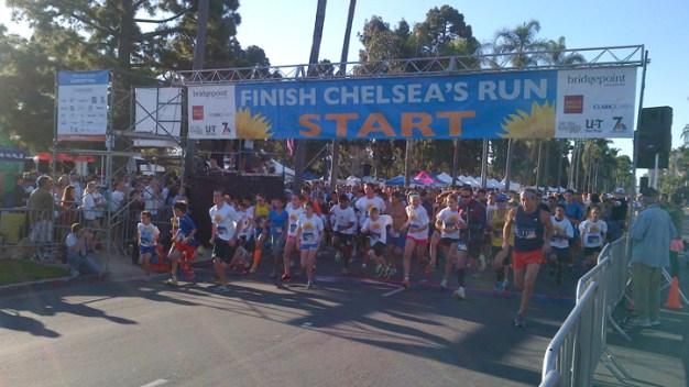 Locals Unite for 3rd Annual 'Finish Chelsea's Run'