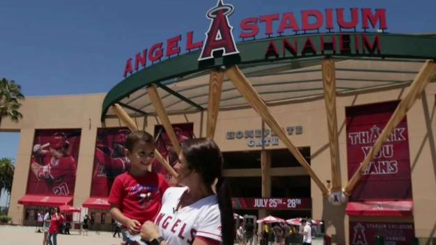 Family Fun at Angel Stadium