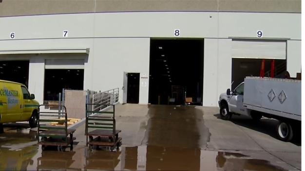 UC San Diego Warehouse Flooded by Water