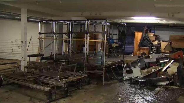 Flooding Wipes Out Man's Pilates Studio and Connected Apt.