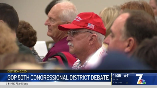 GOP Candidates Take Stage for District 50 Debate