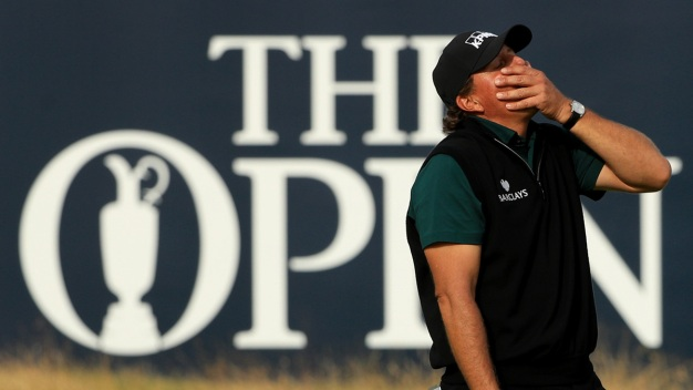 Mickelson Not Close to Being Over British Open