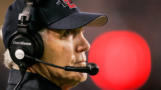 Aztecs Head Football Coach Rocky In It For The Long Run