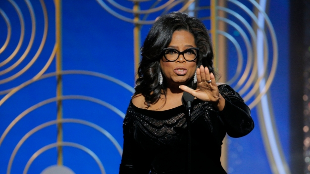 Read Oprah Winfrey's Golden Globes Acceptance Speech