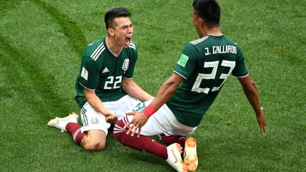 World Cup: Mexico Shocks Germany, Switzerland Ties Brazil