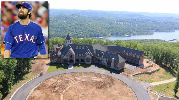 Rangers Pitcher Cole Hamels Gives Away Mansion