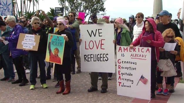 'We Are Here to Stay': Pro-Immigration March in San Diego