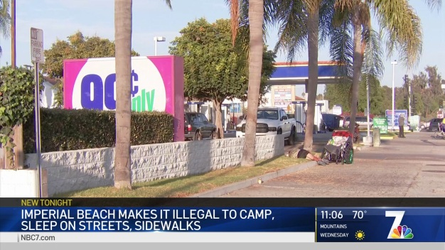 Imperial Beach Makes it Illegal to Sleep on City Property