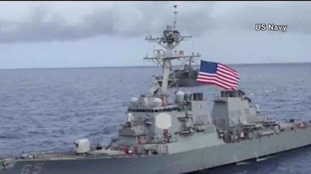 Japanese Tugboat Collides With USS Benfold