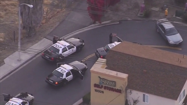 WARNING GRAPHIC VIDEO: Shots Fired in LA Chase