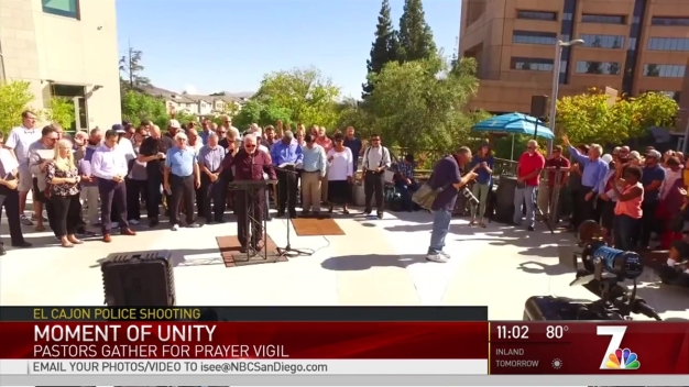 Pastors Pray for Peace, Truth in El Cajon