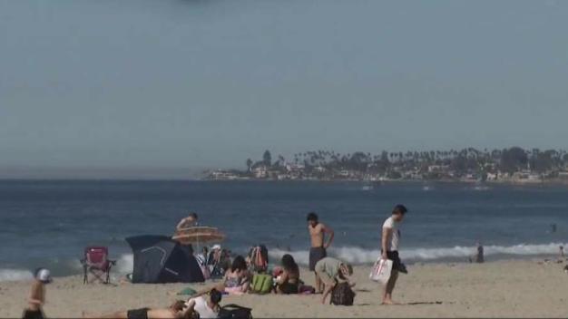 Mini-Heat Wave Has San Diegans Basking