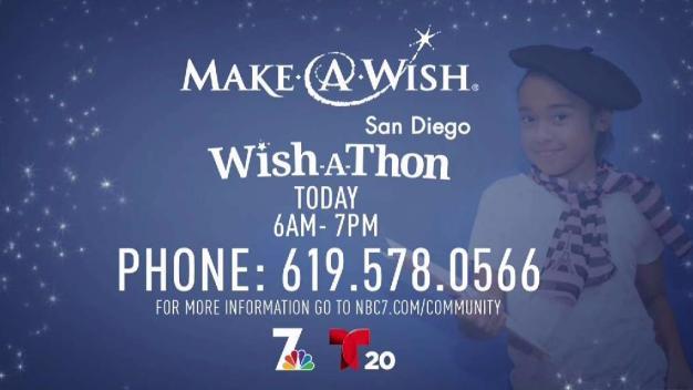 NBC 7's & Telemundo 20's Wish-A-Thon
