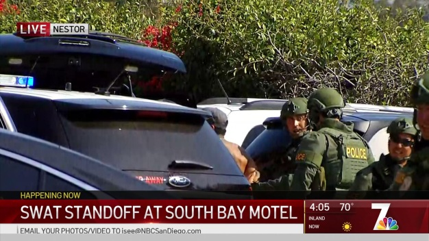 Hours-Long SWAT Standoff in Nestor Ends With Suspect's Surrender
