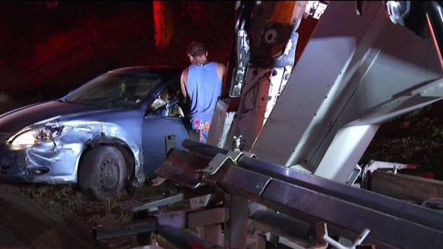 Navy Sailors Help Woman in City Heights Crash