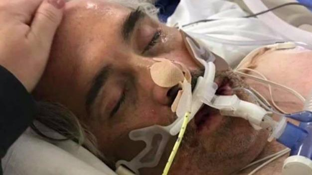 Navy Vet Recovering After Nearly Dying From Flu