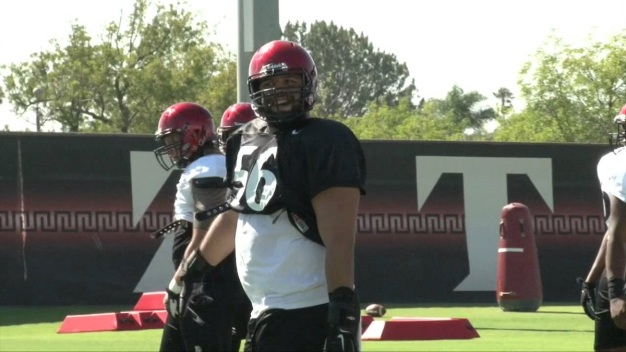 SDSU's Siragusa Eager To Pave The Way