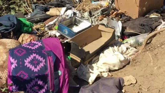 OB Residents Clean Up Homeless Encampments