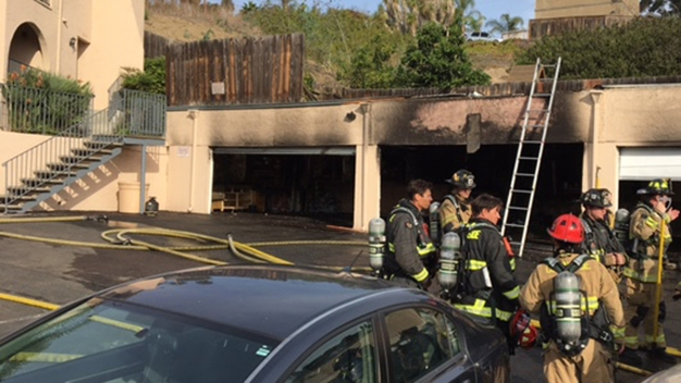 Firefighters Spot Smoke, Discover Apartment Fire