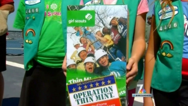 Local Girl Scouts Send Cookies to Troops