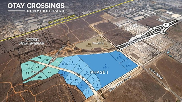 Largest Industrial Development in Years Coming to Otay