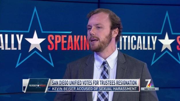 Politically Speaking: SDUSD Votes for Trustee Resignation