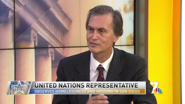 Politically Speaking: UN Representative on San Diego's Homelessness and Housing Shortage