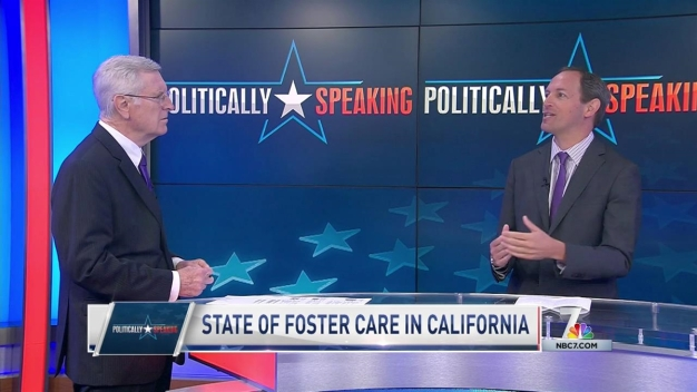 Politically Speaking: State of Foster Care in California