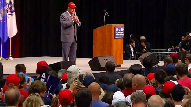 'Papa' Doug Manchester Speaks at Trump Rally