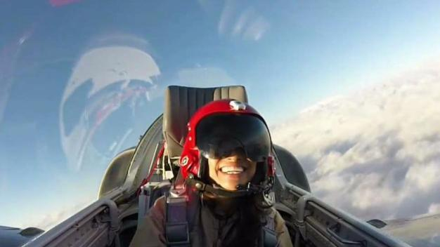 Patriots Jet Team Takes NBC 7 for a Ride