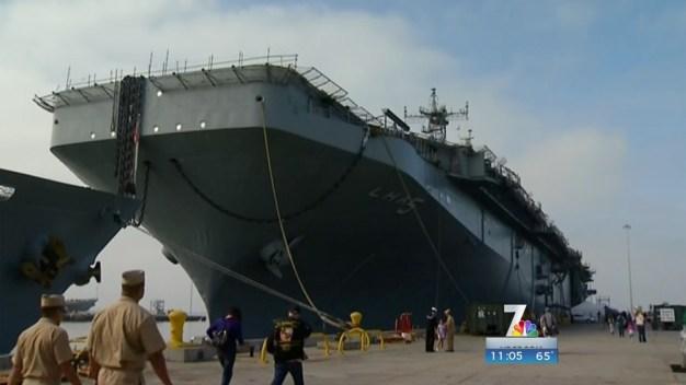 USS Peleliu Decommissioned in San Diego
