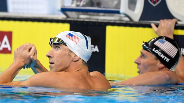 Phelps Edges Lochte at US Swim Trials