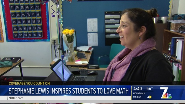 Inspirational Teacher of the Month: Stephanie Lewis