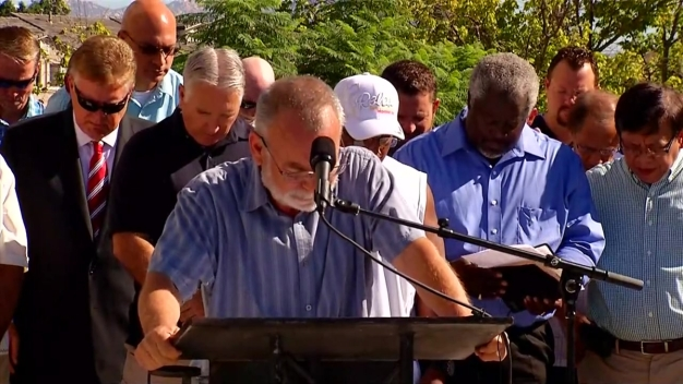 Pastor David Hoffman Prays to 'Thwart' Unrest