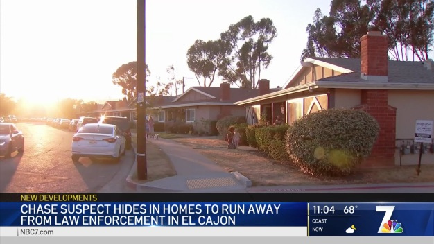 Pursuit Suspect Breaks Into Home to Evade Deputies