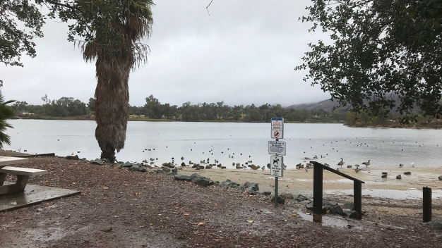 Remnants of 1st Major Fall Storm Linger in San Diego
