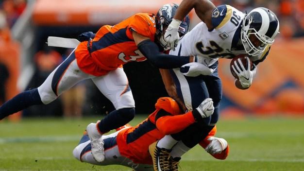 Todd Gurley Runs for 208 Yards, Rams Buck Broncos 23-20