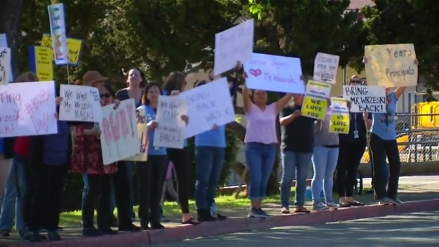 Parents, Students Protest Transfer of Escondido Principle