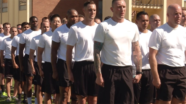 SDPD Recruits Train at SWAT Academy