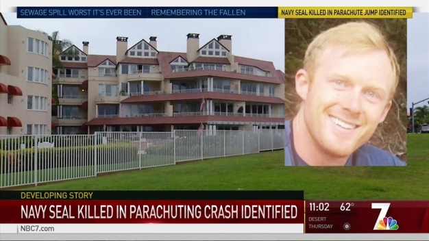US Navy SEAL Killed in Parachuting Incident Identified