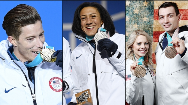 How San Diego's Olympians Did in 2018 Pyeongchang Olympics