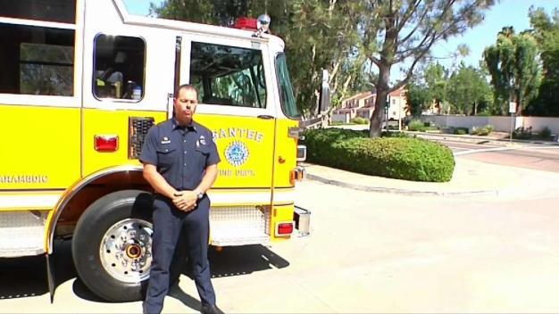 San Diego Fire Crew Retunrs from Ferguson Fire
