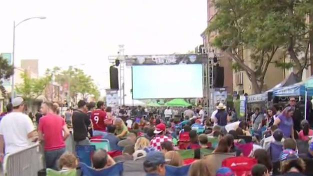 Soccer City Promotes Initiative During World Cup Party