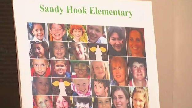 Sandy Hook Victims Remembered at Local Vigil