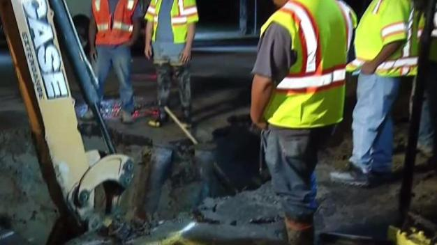 Second Water Main Break in 8 Days in North Park