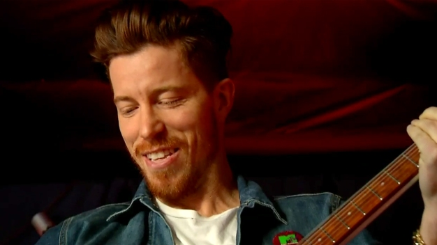 Olympian Shaun White Shreds in San Diego