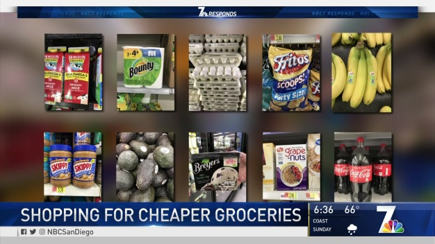 Shopping for Cheaper Groceries