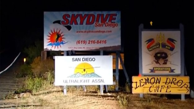 Skydiver Injured Near Chula Vista