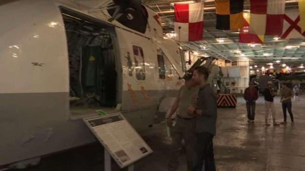 Spend the Night on the USS Hornet